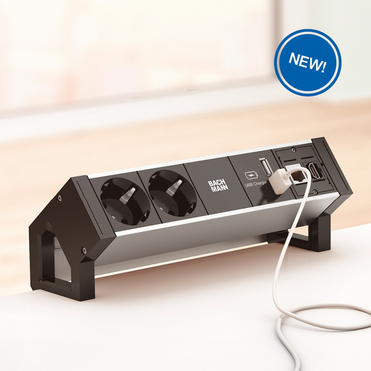 Home Bachmann - Conference table power hub
